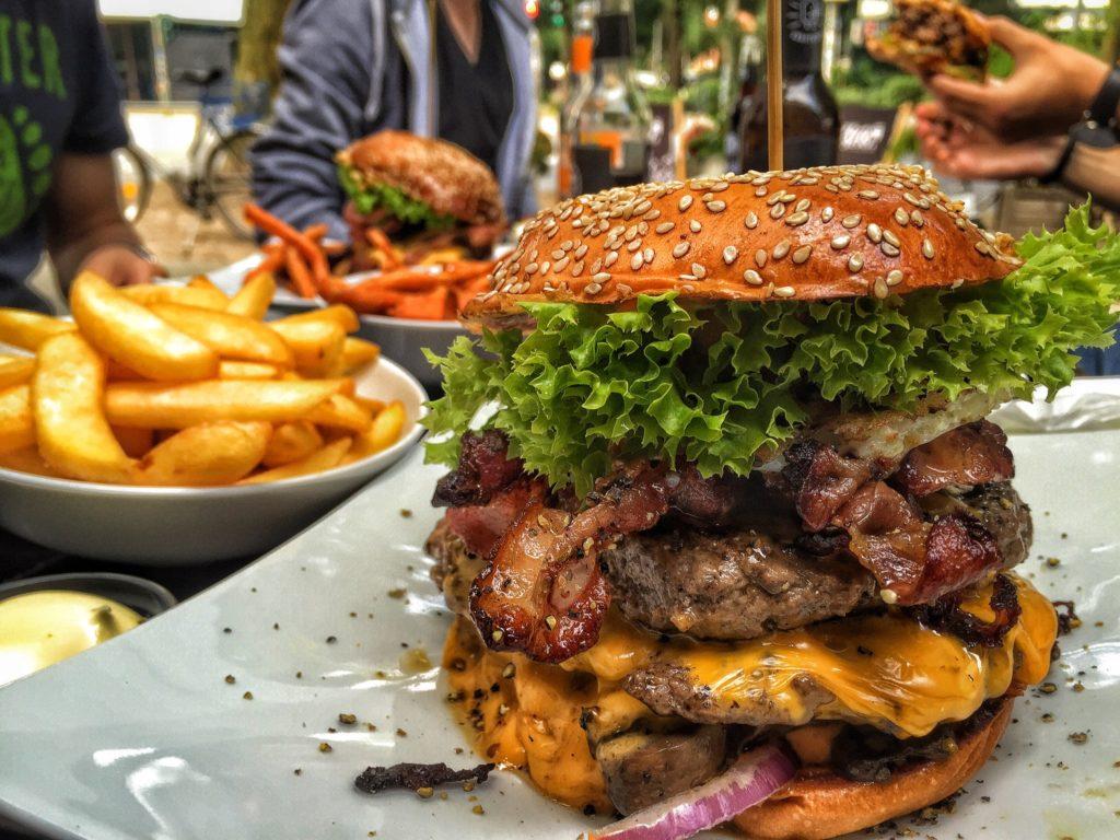 Burger bei Burgerkultour Hamburg